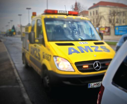 Fotografija vozila AMZS za pomoč na cesti